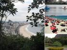 No Rio, a atração maior é a natureza (G1/ AE)