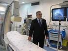 Ministro da Saúde visita sala renovada do Incor (Foto: Letícia Macedo/ G1)
