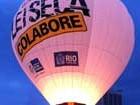 Balão da Lei Seca recebe passageiros (Túlio Mello / G1)