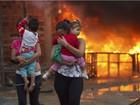 Grupo libera Via Dutra após ato contra despejo em São José dos Campos