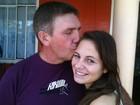 Pai diz que filha ficou emocionada na  volta para casa após envenenamento