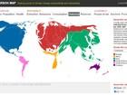 Mapa interativo mostra distribuição desigual de emissões de carbono
