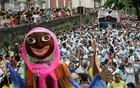 Amor por Santa Teresa une foliões no bloco  (Marcos de Paula/ Ag. Estado)