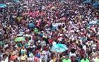 Quase 5 milhões no Rio curtiram folia na rua (Bernardo Tabak/G1)