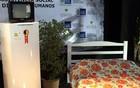 Vítimas das chuvas ganham móveis, fogão, TV e panelas (Matheus Quintal/Prefeitura de Petrópolis)
