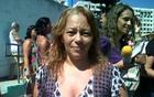 Após ataque, mãe quer se matricular  (Carolina Lauriano/G1)