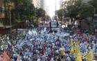 Veja imagens da manifestação no Centro do Rio (Fabrício Costa)