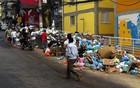 Grupo recolhe 1 tonelada de lixo na Rocinha (Rodrigo Vianna/G1)