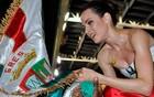 Ana Furtado perde até 1,5 kg por ensaio (Anilton Loureiro / Divulgação)