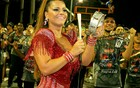 De tamborim,  Viviane Araújo é destaque  (Divulgação / Divulgação)