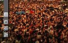 Veja megafoto do réveillon em Copacabana (Marcio Rodrigues e Claudio Paschoa/Megafoto.org)