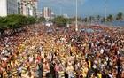 Bloco esquenta as ruas de Ipanema (Alexandre Durão/G1)