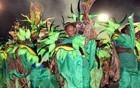 Mocidade do Coroado cantou Manaus (Anderson Silva/G1 AM)