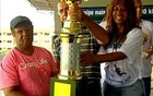 Rosa de Ouro é campeã do carnaval (Reprodução/TV Integração)