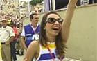 Desfile foi emocionante, diz coreógrafa (Reprodução/GloboNews)