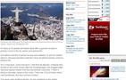 Tiroteiro repercute em sites de outros países (Reprodução)