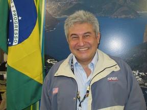 O astronauta brasileiro Marcos Pontes é embaixador do World Skills (Foto: Vanessa Fajardo/G1)