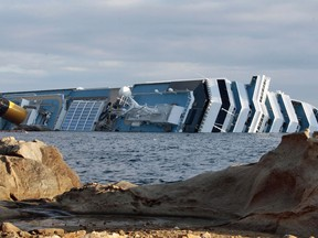 galeria naufrágio (Foto: Gregorio Borgia/AP)
