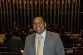 O deputado Tiririca no plenário da Câmara dos Deputados (Foto: Vianey Bentes / TV Globo)