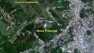 Inpe compara áreas atingidas; veja imagens (Divulgação/Inpe)