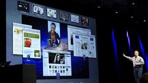 Phil Schiller, vice-presidente sênior da Apple, fala sobre as melhorias do OS X Lion durante evento em San Francisco (Foto: Beck Diefenbach/Reuters)