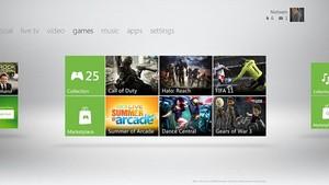 Mudança do menu do Xbox 360 chega no dia 6 de dezembro (Foto: Divulgação)