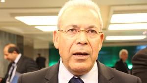 Presidente do Conselho Nacional Sírio, Burhan Ghalium (Foto: Germano Assad/G1)