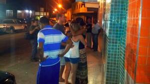 Pais são informados da localização de filhos desaparecidos (Foto: Leandro Nossa/ G1ES)