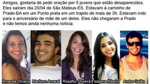 Divulga Desaparecidos (Foto: Divulgação/ Internet)