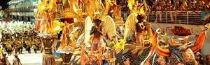 Cinco escolas de samba encerraram os desfiles (Nestor Müller/A Gazeta)