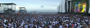 Público espera ansioso réveillon de Copacabana (Público espera ansioso réveillon de Copacabana (Reprodução TV Globo))