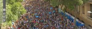 Blocos de rua atraem mais de 5,3 milhões de foliões, diz secretário (Claudio Paschoa e Marcio Rodrigues/Mpix/G1)