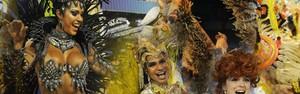 Tijuca é campeã do carnaval do Rio (Arte G1)