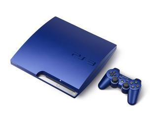 PlayStation 3 azul (Foto: Divulgação)