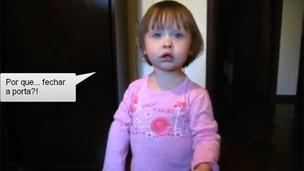 Vídeo de Isabela no YouTube (Foto: Reprodução)