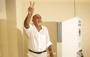 Simão Jatene vota em Belém