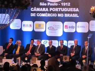 Lula  participa de jantar comemorativo dos 98 anos da Câmara Portuguesa de Comércio no Brasil