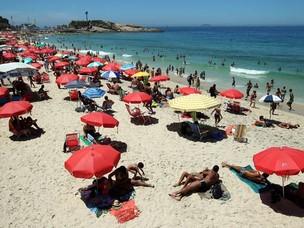 Praia de Ipanema (Foto: Fabio Motta/AE)
