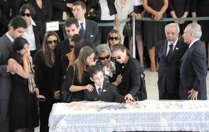 Velório de Alencar é realizado no Palácio do Planalto; veja imagens (Ivaldo Cavalcante/AE)