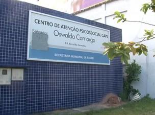 Centro de saúde psiquiatrico em Salvador (Foto: Reprodução TV Bahia)