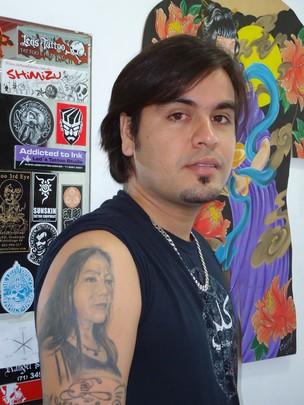 homenagem do dia das maes tattoo (Foto: Ingrid Maria Machado)