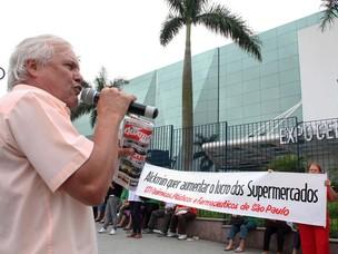 Protesto Apas (Foto: Amauri Nehn/NEWS FREE/AE)
