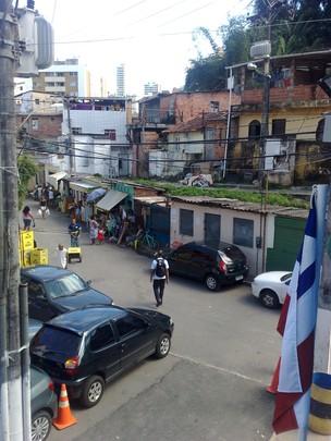 calabar em Salvador (Foto: Tatiana Dourado)