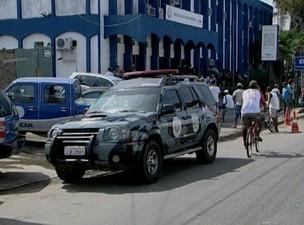 Operação prende quadrilha formada por policiais na Bahia (Foto: Reprodução/TV Santa Cruz)