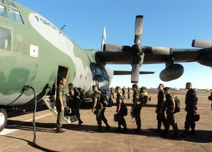 Mais 103 militares de MS reforçam combate a desmatamento no MT (Foto: Divulgação/CMO)