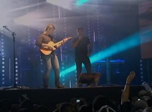 Tiroteio show de Victor e Léo 2 (Foto: Reprodução TV Bahia)