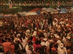 Tiroteio show de Victor e Léo (Foto: Reprodução TV Bahia)