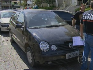 quadrilha, automóveis, minas gerais, zona da mata (Foto: Reprodução/TV Globo)