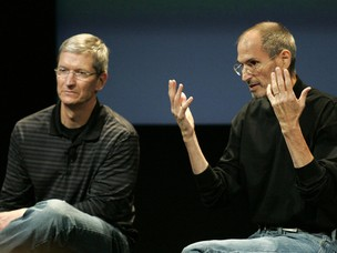 Steve Jobs (Foto: Kimberly White/Reuters)