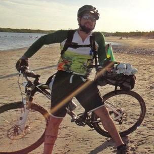 reinaldo cezimbra bicicleta salvador (Foto: Arquivo Pessoal)